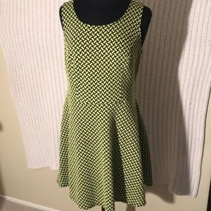 Forever 21 Dress Bright Yellow 1X